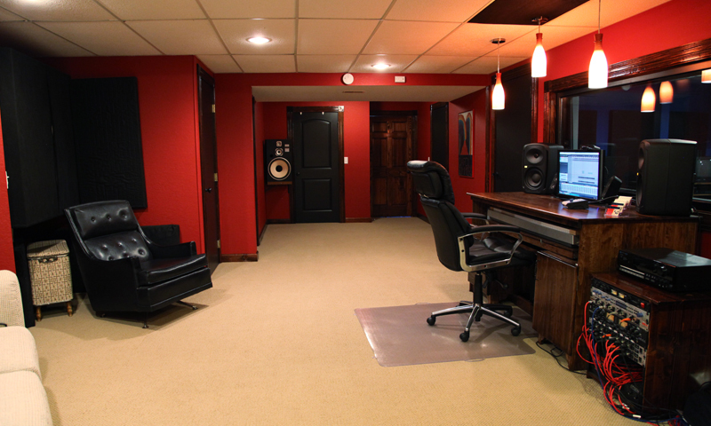 Sensational Blue Room Sound Recording And Mixing Studio Largest Home Design Picture Inspirations Pitcheantrous